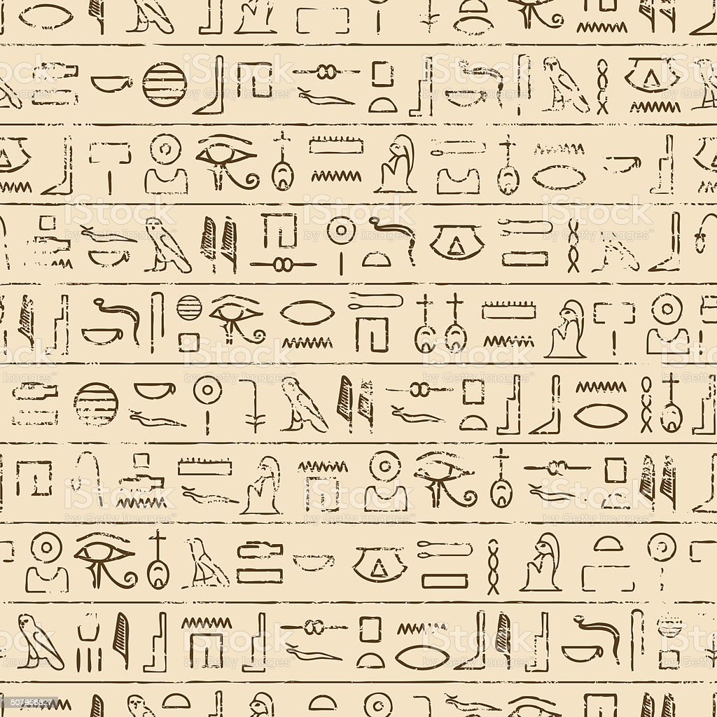 Egyptian hieroglyphics background stock vector art more images of egyptian hieroglyphics background royalty free egyptian hieroglyphics background stock vector art amp more images buycottarizona Choice Image