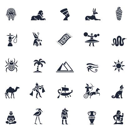 Egyptian Icon Set
