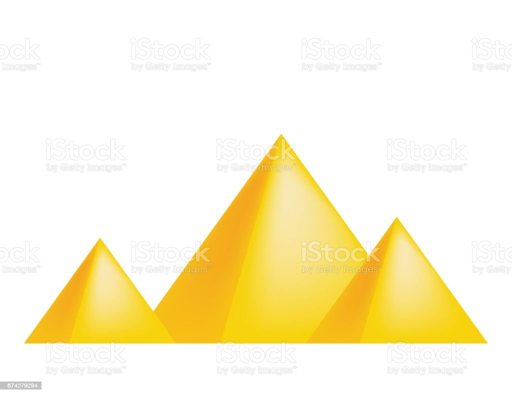 royalty free clipart pyramid clip art vector images illustrations rh istockphoto com pyramid clipart free pyramid clipart free