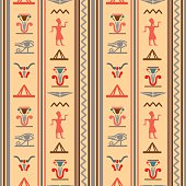 Egyptian seamless pattern