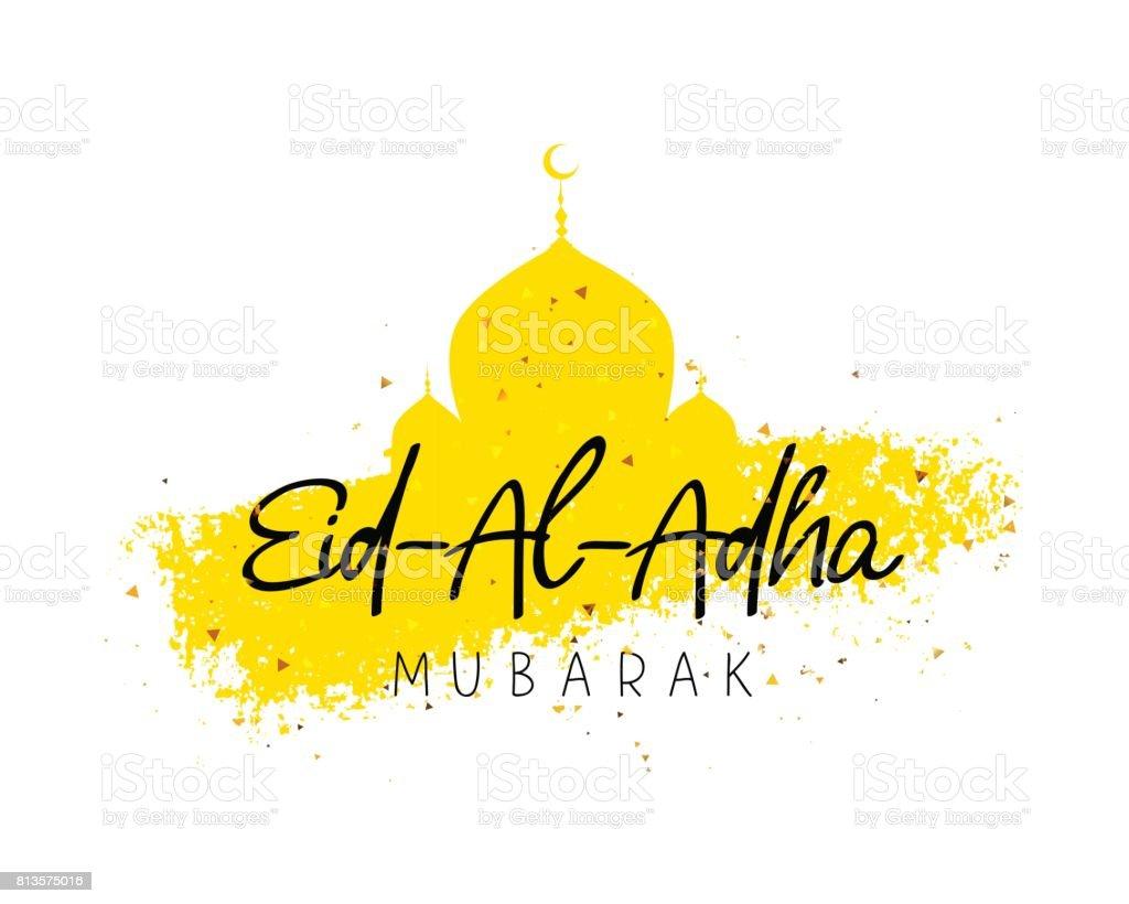 eid al adha mubarak stock vector art amp more images of