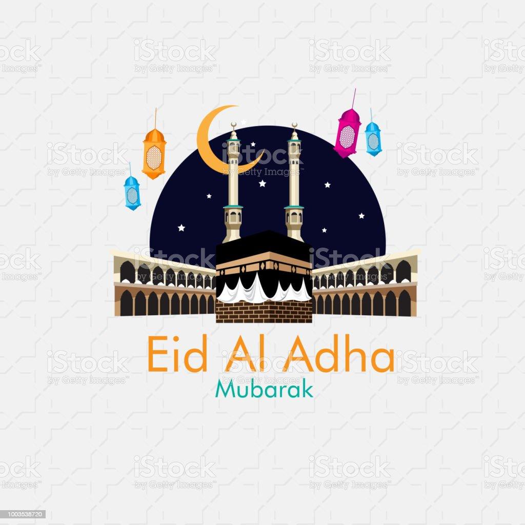 Eid al Adha vector art illustration