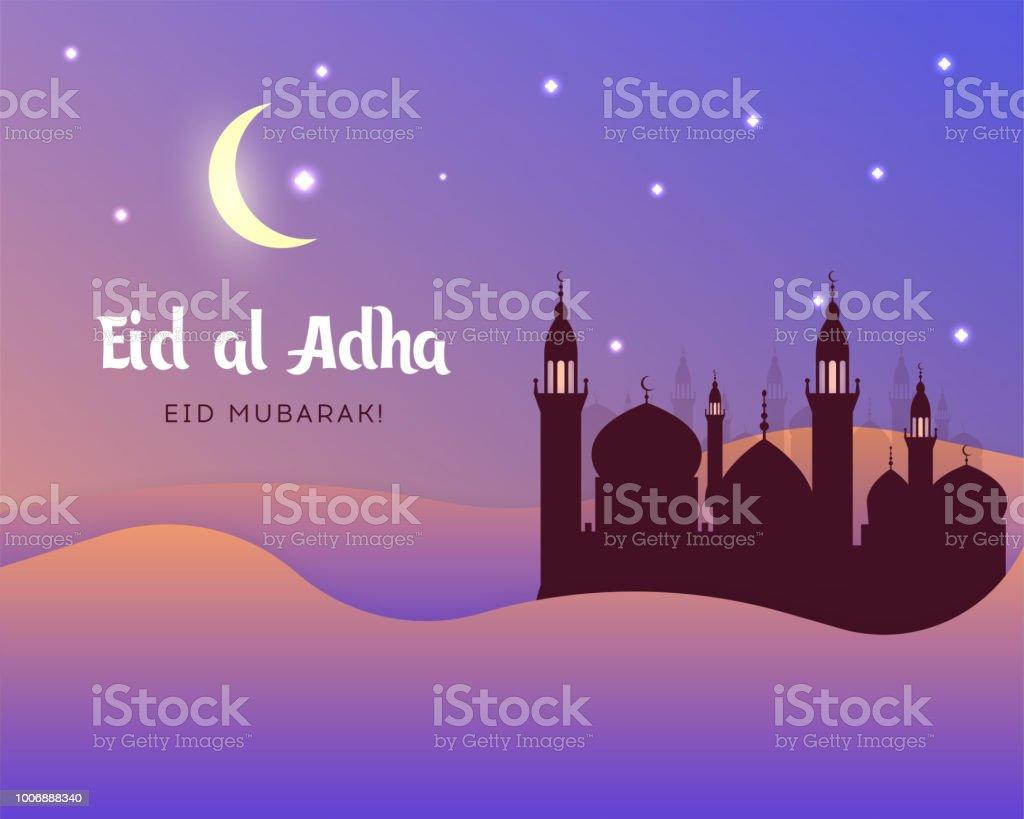 Eid Aladha Eid Uladha Mubarak Stock Vector Art More Images Of