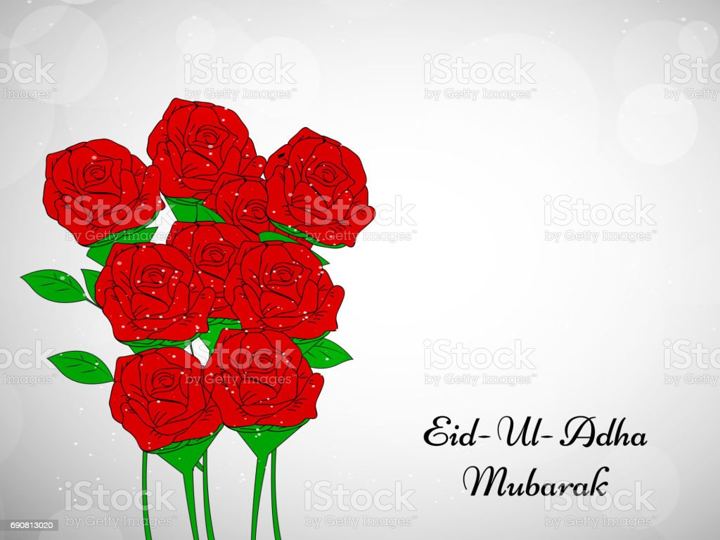 Eid background vector art illustration
