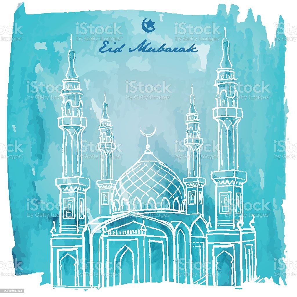 eid mubarak banner greeting background stock illustration download image now istock https www istockphoto com vector eid mubarak banner greeting background gm541859760 96911185