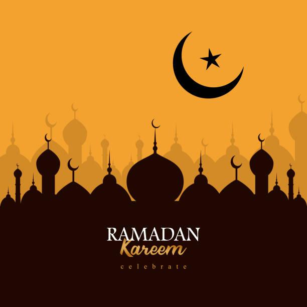 Eid Mubarak Greeting Background Design Eid Mubarak Greeting Background Design eid mubarak stock illustrations