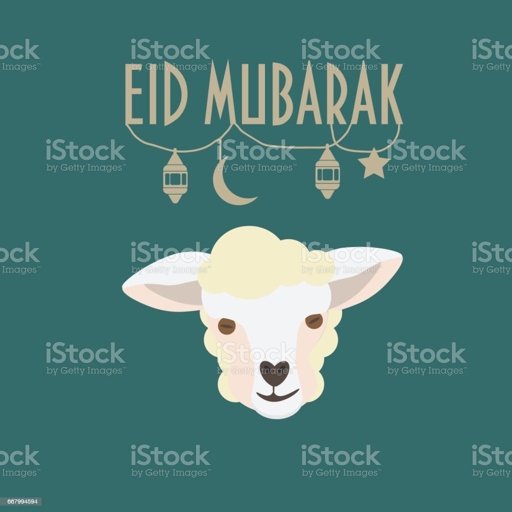 Eid mubarak greeting card eid aladha festival of the sacrifice eid mubarak greeting card eid al adha festival of the sacrifice poster m4hsunfo