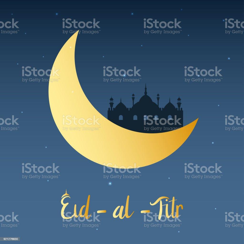 Top Hijri Eid Al-Fitr Greeting - eid-mubarak-islamic-on-the-beautiful-night-with-moon-eid-al-fitr-vector-id921276830  Snapshot_765684 .com/vectors/eid-mubarak-islamic-on-the-beautiful-night-with-moon-eid-al-fitr-vector-id921276830