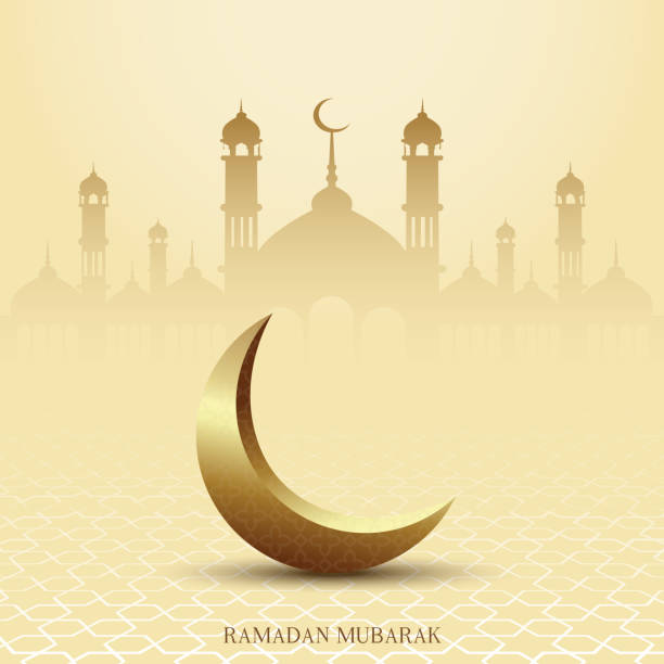 Eid Mubarak. Ramadan Mubarak greeting card with Islamic ornaments. Vector Eid Mubarak. Ramadan Mubarak greeting card with Islamic ornaments. Vector. eid mubarak stock illustrations