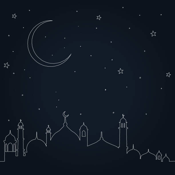 eid mubarak - ramadan stock illustrations, clip art, cartoons, & icons