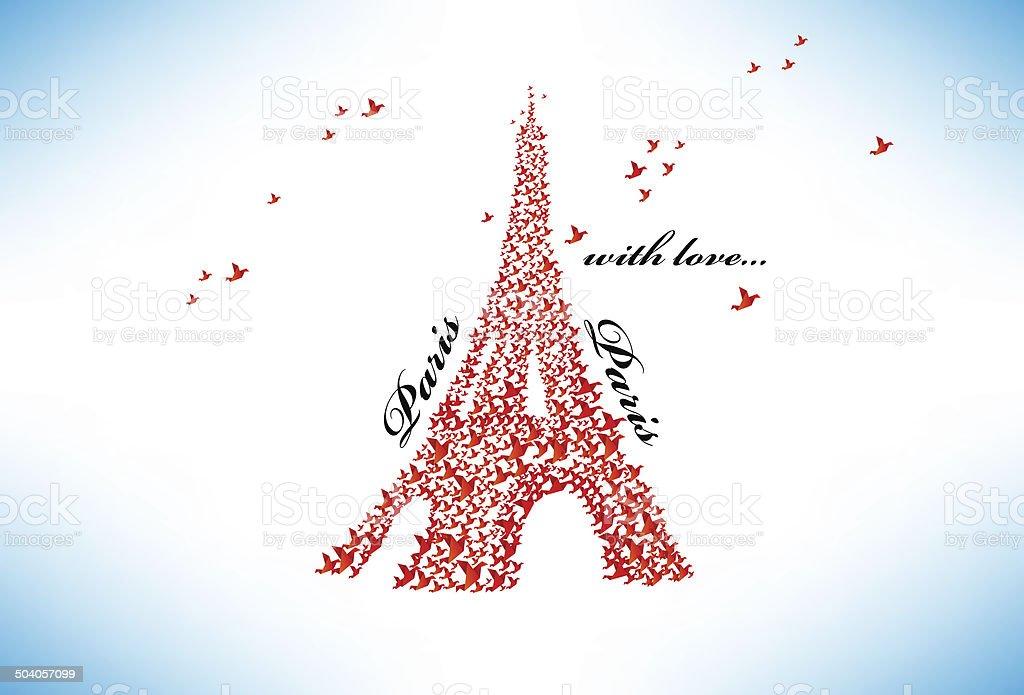 Origami Architecture: Eiffel Tower | Robert Deveraux | Flickr | 695x1024