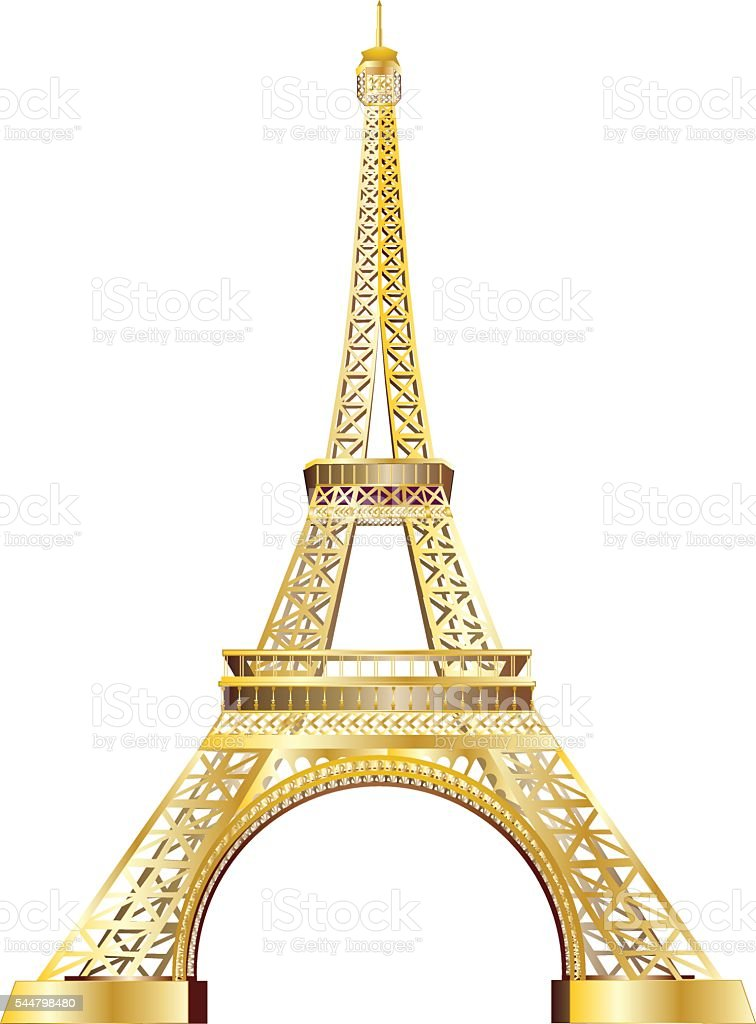 Eiffel tower gold stock vector art more images of abstract eiffel tower gold royalty free eiffel tower gold stock vector art amp more images thecheapjerseys Gallery