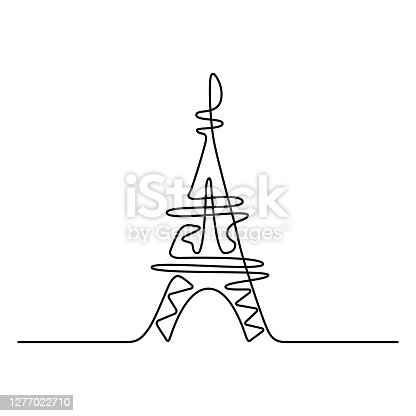 istock Eiffel Tower in Paris. 1277022710