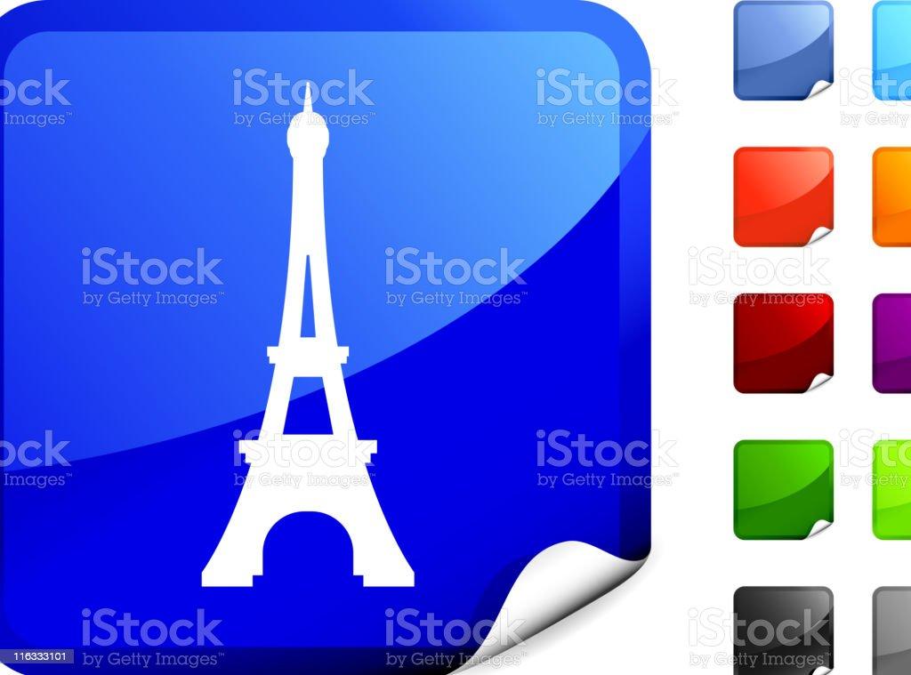 Eiffel tower internet royalty free vector art royalty-free stock vector art