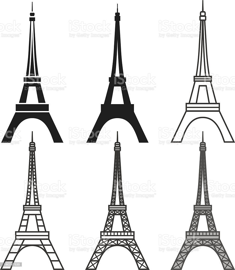 Eiffel tower set stock vector art more images of architecture eiffel tower set royalty free eiffel tower set stock vector art amp more images thecheapjerseys Gallery