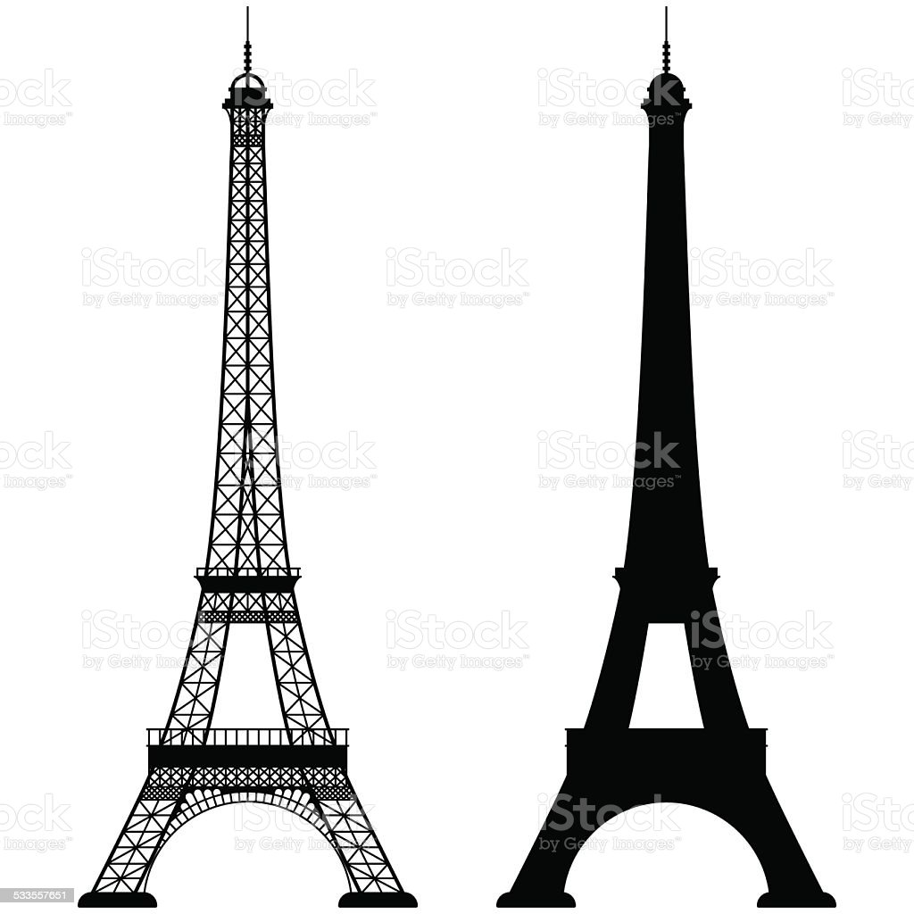 Royalty Free Eiffel Tower Clip Art Vector Images