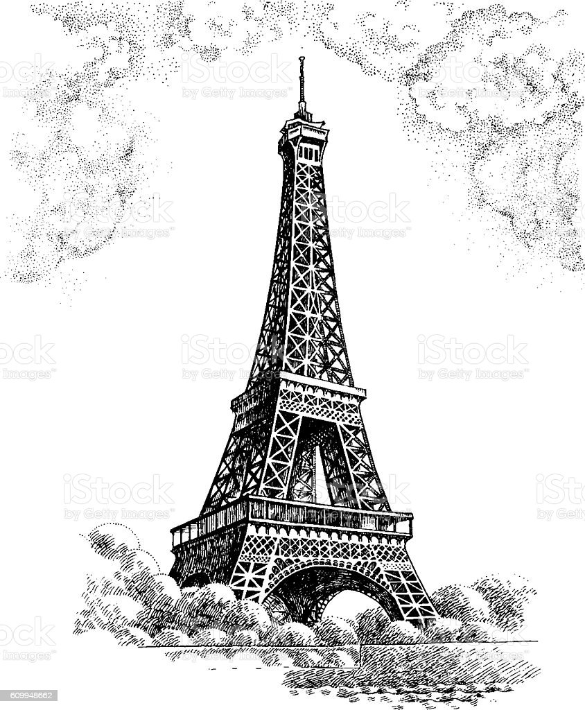 Eiffel tower stock vector art more images of black color 609948662 eiffel tower royalty free eiffel tower stock vector art amp more images of black thecheapjerseys Gallery