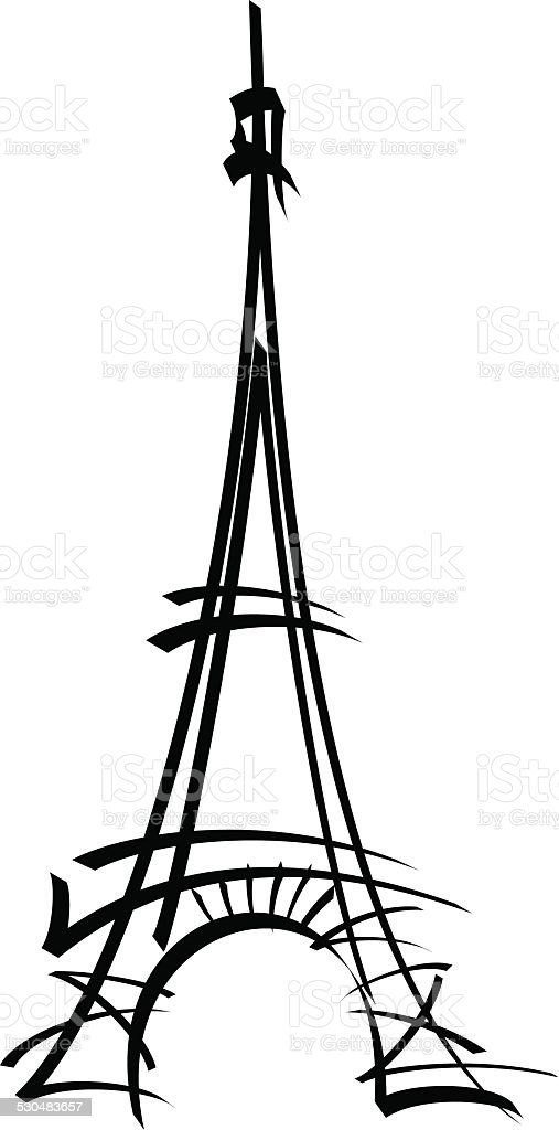 Eiffel tower vector illustration stock vector art more images of eiffel tower vector illustration royalty free eiffel tower vector illustration stock vector art amp thecheapjerseys Gallery