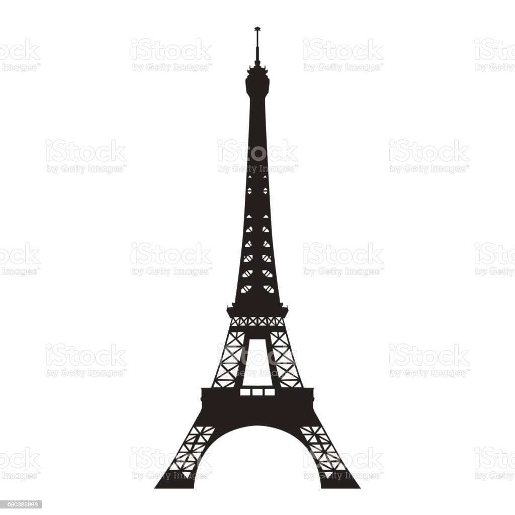 Eiffel tower vector isolated silhouette stock vector art more eiffel tower vector isolated silhouette royalty free eiffel tower vector isolated silhouette stock vector thecheapjerseys Image collections