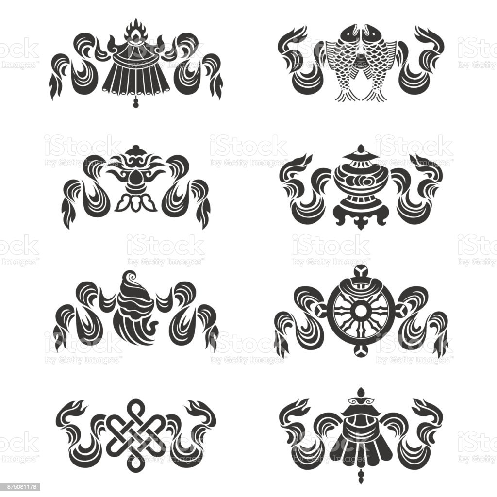Eight auspicious treasures in buddhism02 stock vector art more eight auspicious treasures in buddhism 02 royalty free eight auspicious treasures in buddhism02 stock biocorpaavc Gallery