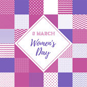 Eight March Women's Day Web and Social Media Banner