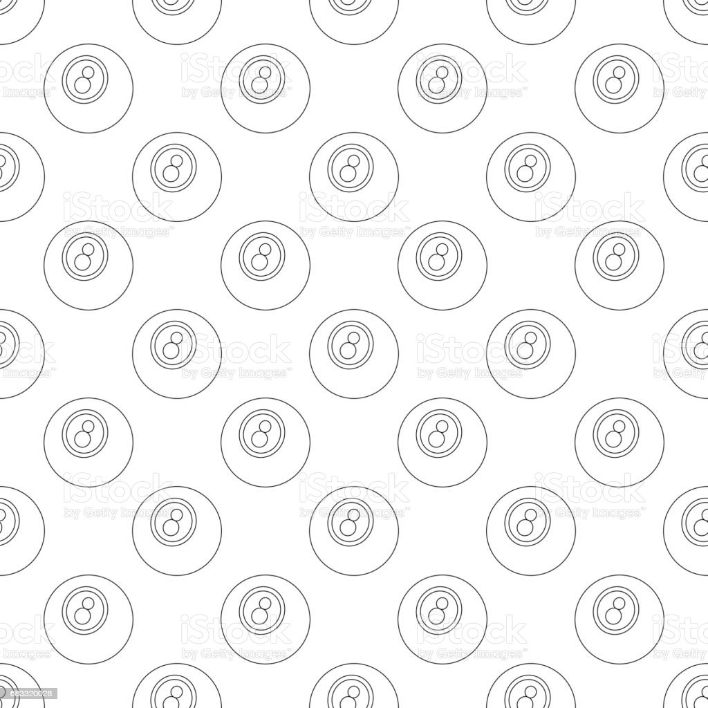 Eightball pattern seamless royalty-free eightball pattern seamless stock vector art & more images of american culture