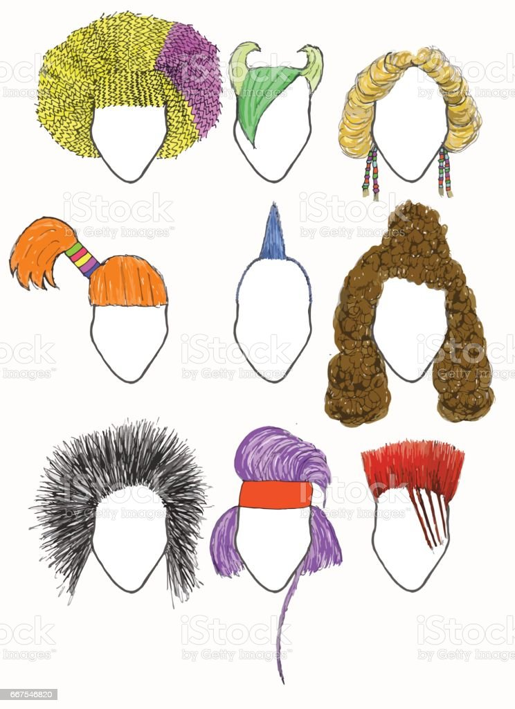 Royalty Free Bad Hair Day Clip Art Vector Images Illustrations