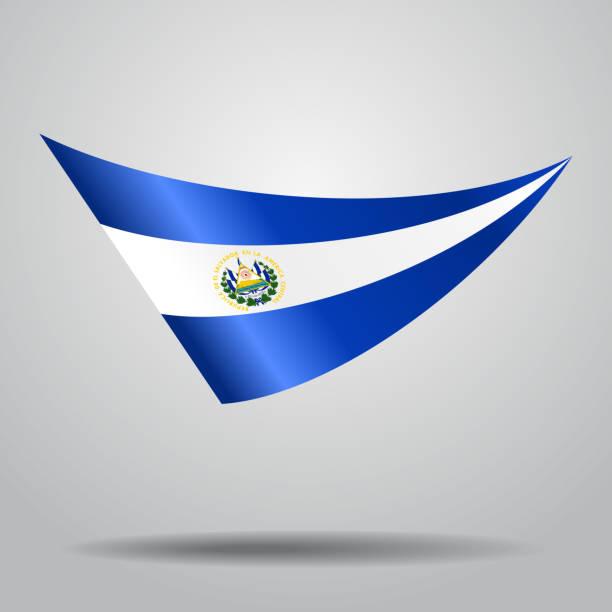 El Salvador Flag Wallpaper Background Illustrations ...