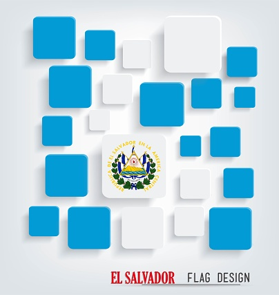El Salvador Flag Design