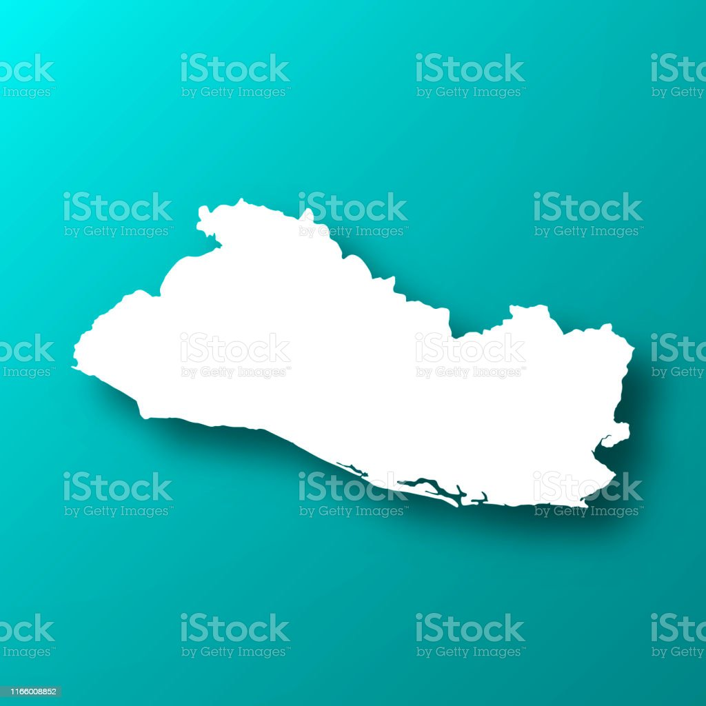 El Salvador Map On Blue Green Background With Shadow Stock ... on ahuachapan map, costa rica map, tenochtitlan on map, caribbean map, bahamas map, guatemala map, uruguay map, colombia map, kingston map, chalatenango map, managua map, panama map, tegucigalpa map, havana map, caracas map, honduras map, central america map, santo domingo map, lima map, nassau map,