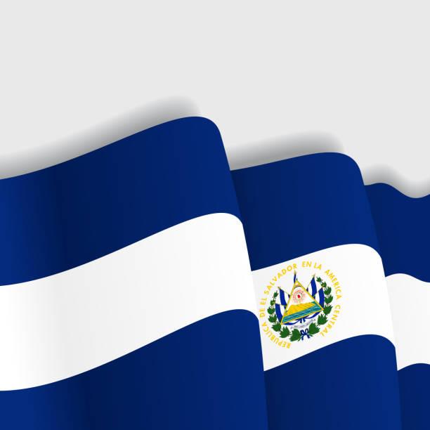 Royalty Free El Salvador Flag Clip Art, Vector Images ...