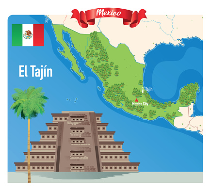 El Tajin, Papantla Pyramid Mexico