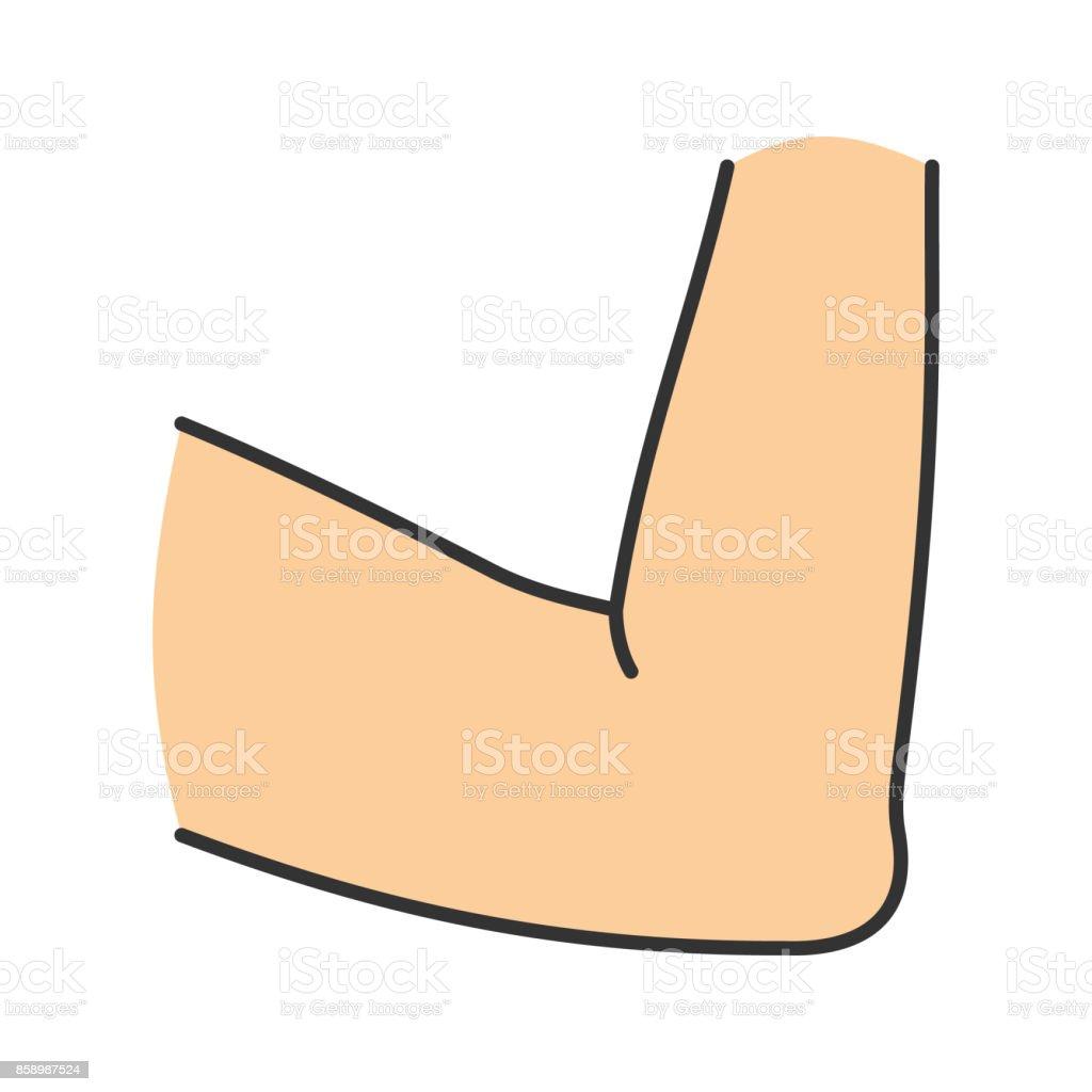 Ellenbogen Gemeinsame Symbol Stock Vektor Art und mehr Bilder von ...