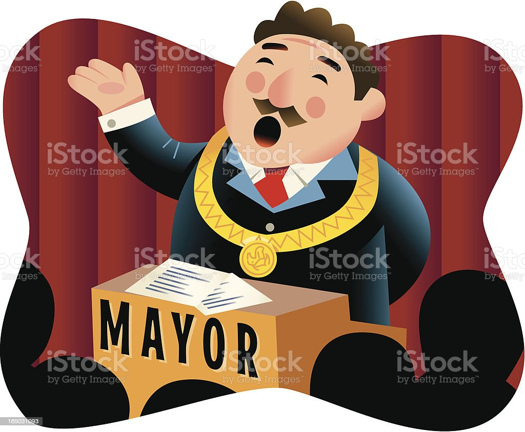 Mayor royalty-free mayor stock vector art & more images of adult
