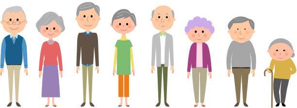 elderly, senior, old man - 主婦 日本人点のイラスト素材/クリップアート素材/マンガ素材/アイコン素材
