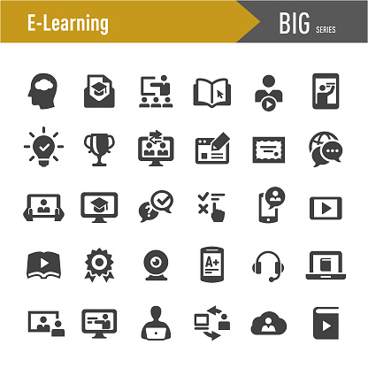 E-Learning Icons - Big Series