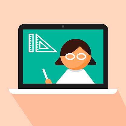 E-learning of Drafting school subject concept