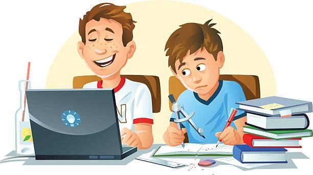 ilustrações, clipart, desenhos animados e ícones de e educação - aula de matemática