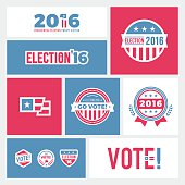Election 2016 Badges & Graphics