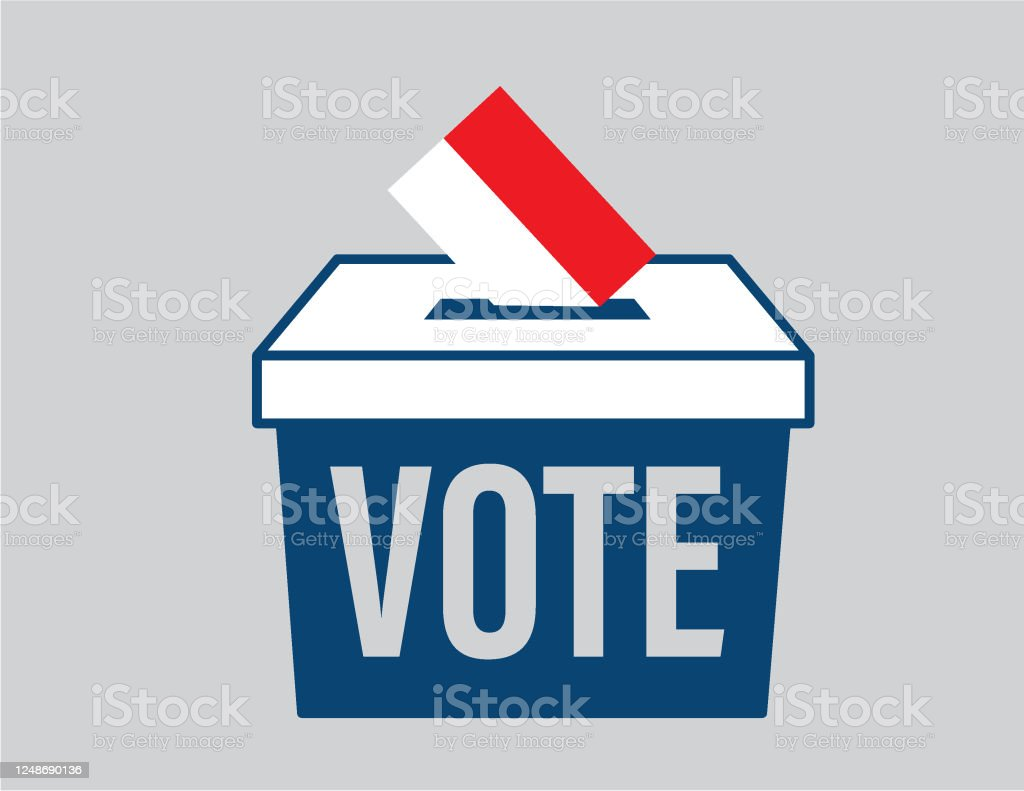 Election Ballot Box With A Combination Of Indonesian Flag Stock Illustration Download Image Now Istock