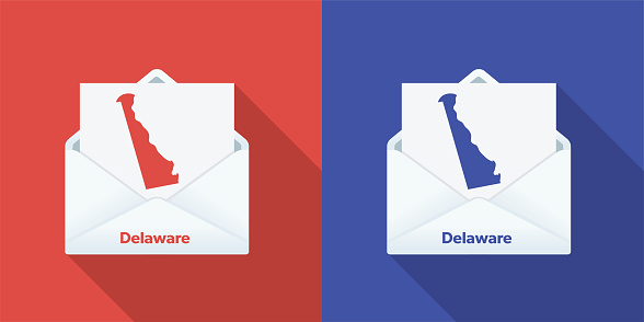 USA Election Mail In Voting: Delaware