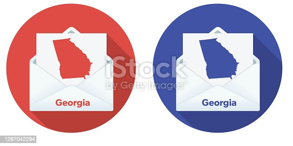 istock USA Election Mail In Voting: Georgia 1267042294