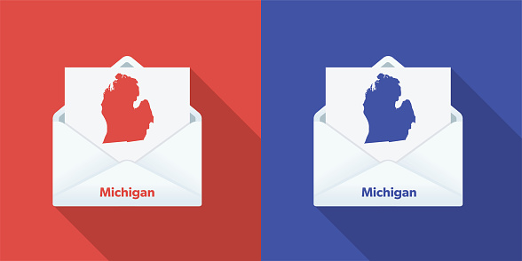 USA Election Mail In Voting: Michigan