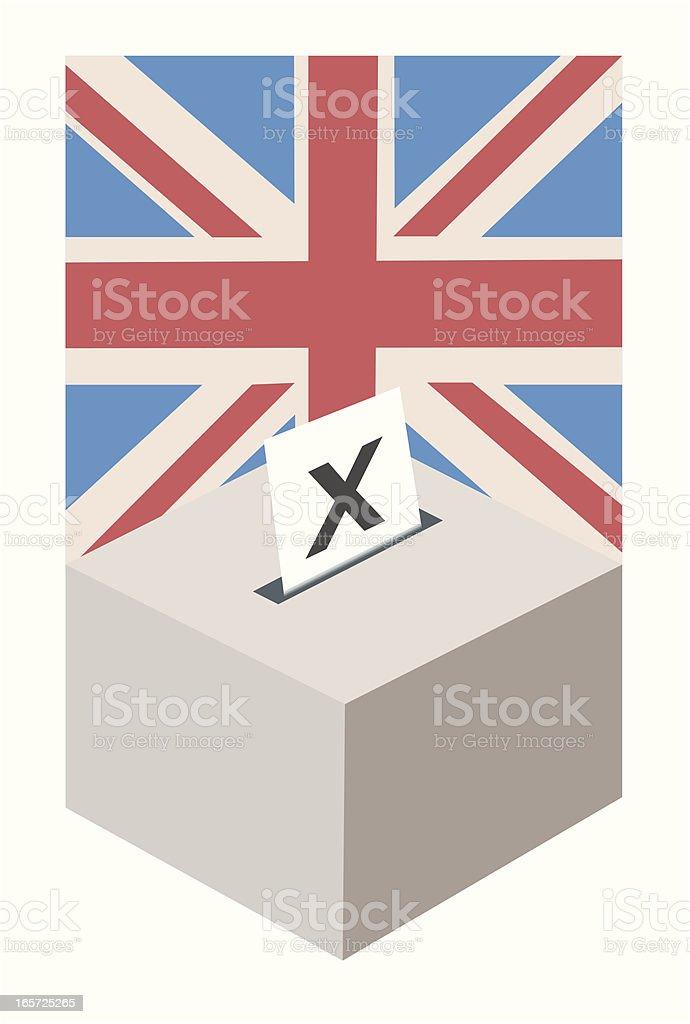 UK Election royalty-free stock vector art
