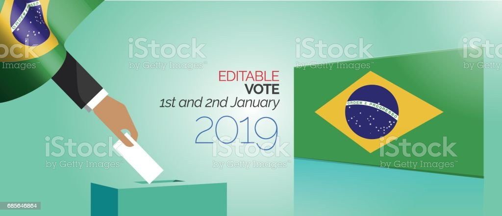 Election Vote Box Brazil election vote box brazil - arte vetorial de stock e mais imagens de abstrato royalty-free