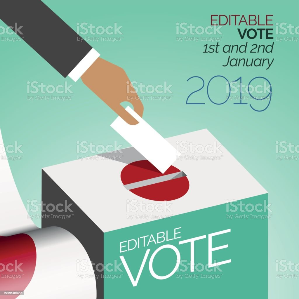 選舉投票框日本 免版稅 選舉投票框日本 向量插圖及更多 亞洲 圖片