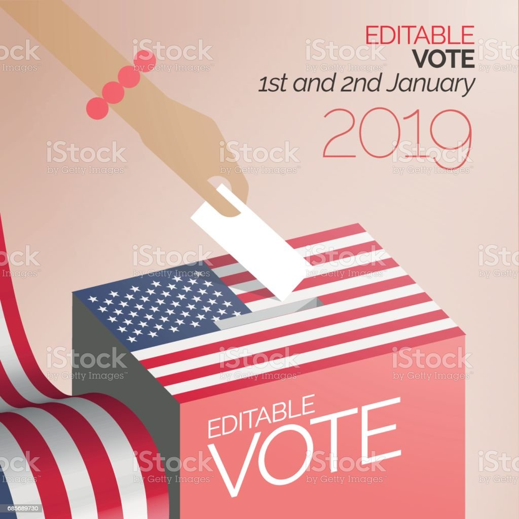 Election vote box United States royalty-free election vote box united states stock vector art & more images of abstract