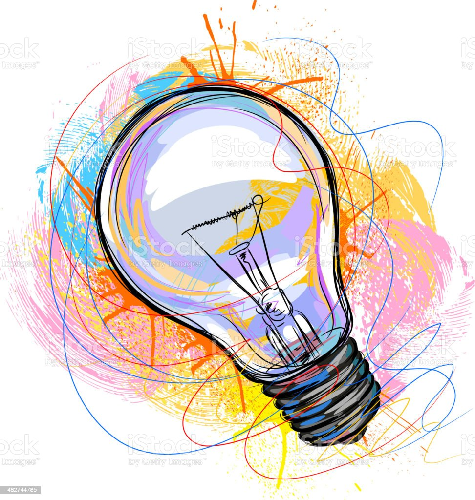 Electric Bulb royalty-free electric bulb stock vector art & more images of art