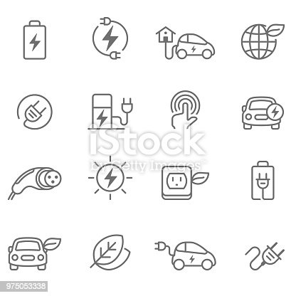 Electric Car, Car, Electric Vehicle, Charging