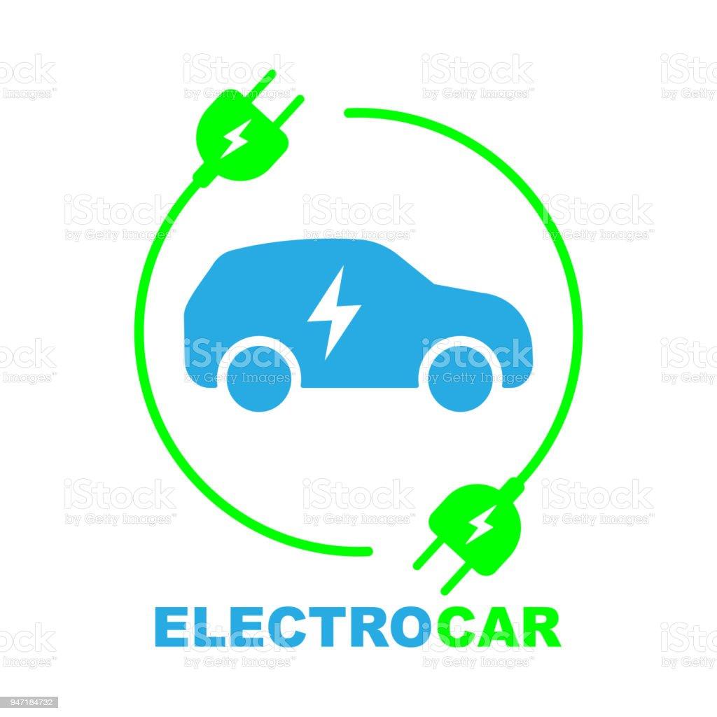 Elektroauto Auf Der Ladestation Stock Vektor Art und mehr Bilder von ...